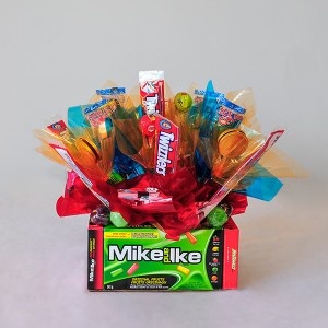Candy Bouquet by Mary Margaret's Flowers