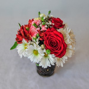 Colour Burst Bouquet by Mary Margaret's Flowers