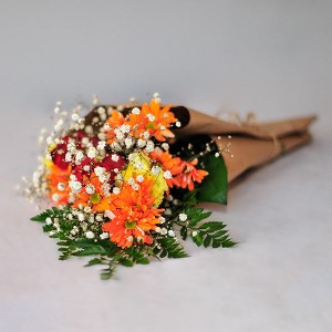 Bountiful Colour Bouquet by Mary Margaret's Flowers