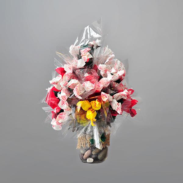 Newfoundland Tartan Candy Bouquet